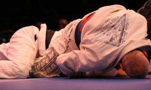 Brazilian Jiu-Jitsu Competition Choke